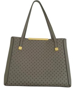 J.Crew Tote Leather Perforated Claremont Shoulder Bag
