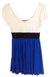 Forever 21 short dress Blue/Black/Ivory on Tradesy