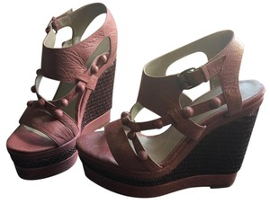 Balenciaga Dusty Rose Wedges