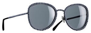 Chanel Gorgeous gunmetal and pearls Chanel sunnies