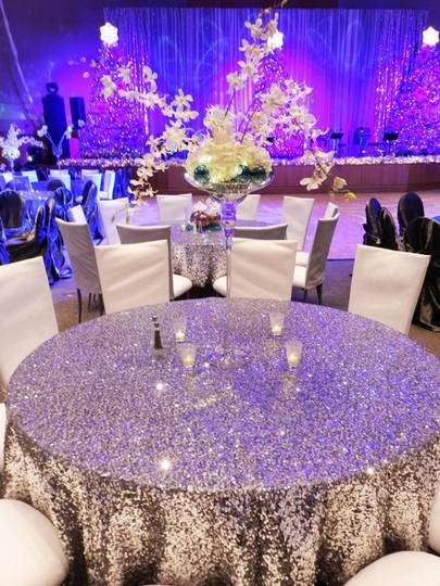 Preload https://img-static.tradesy.com/item/18707482/silver-lot-of-10-120-round-sequin-bling-glam-sparkle-event-party-anniversary-tablecloth-0-0-540-540.jpg