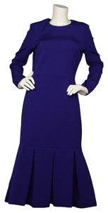 Cushnie et Ochs Long Purple Gown Dress