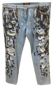 Roberto Cavalli Relaxed Fit Jeans-Distressed