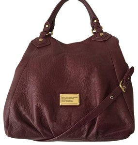 Marc by Marc Jacobs Satchel in Port Red