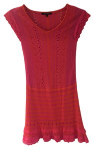 Nanette Lepore short dress Pink and Orange on Tradesy