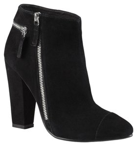 ALDO Bootie Pointed Toe Black Suede Boots