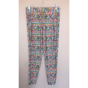 Trina Turk Bora Bora Cover Up Xs Bright Print Relaxed Pants