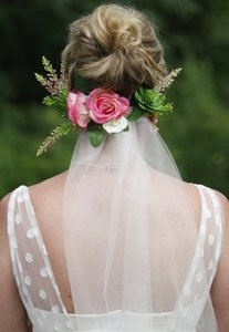 Beautiful Floral Veil