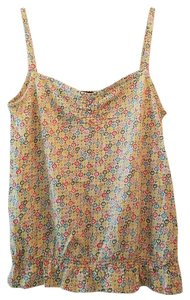Marc Jacobs Camisole Ruching Top Multi floral