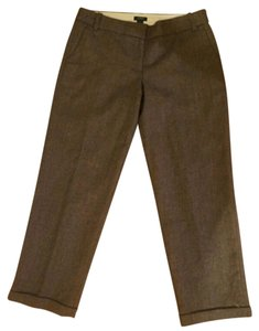 J.Crew Trouser Pants brown tweed