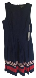 Jason Wu for Target short dress navy Pleated Summer A-line on Tradesy