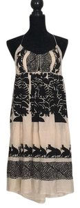 Plenty by Tracy Reese short dress Black and Cream on Tradesy