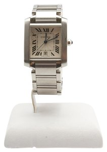 Cartier Cartier Tank 2302 Stainless Steel Automatic Watch (96896)