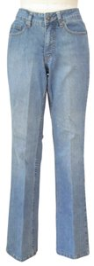 Coldwater Creek Stretchy Classic Fit Boot Cut Jeans-Light Wash