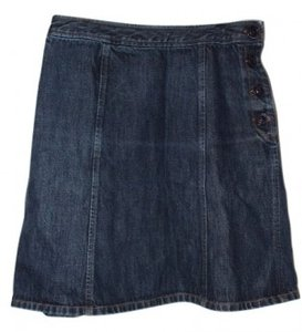 The Limited Skirt dark denim
