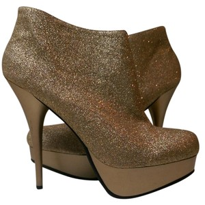 Dollhouse Gold Boots