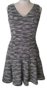 Banana Republic short dress Black Fit And Flare Knit on Tradesy