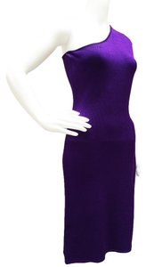 Ralph Lauren short dress Purple One Fitted 17995 on Tradesy