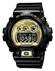G-Shock G Shock Watch Digital Shock Resist Black Gold Gd-x6900fb-1
