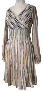 M Missoni Knit Metallic Dress