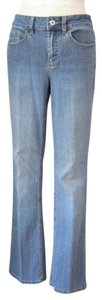 Coldwater Creek Stretchy Classic Fit Casual Boot Cut Jeans-Medium Wash