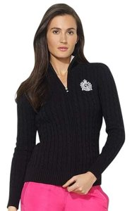 Ralph Lauren Classic Elegant Warm Mock-neck Medium Sweater