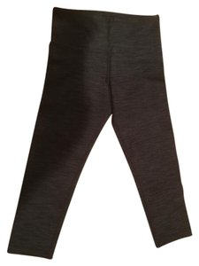 Lululemon Wunder Under Crop Crop Wunder Under BLACK DENIM Leggings