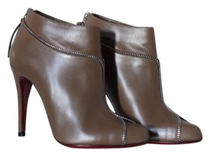 Christian Louboutin Leather Bootie brown Boots