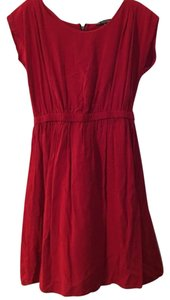 BeBop short dress Red on Tradesy