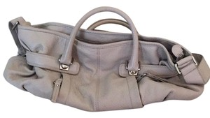 Banana Republic Leather Classic Satchel in Beige