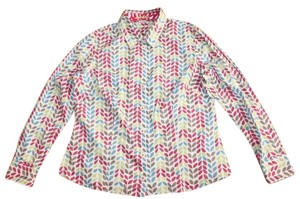 Boden Printed Button Down Shirt MULTI COLOR