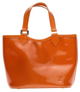 Louis Vuitton Leather Tote in Orange