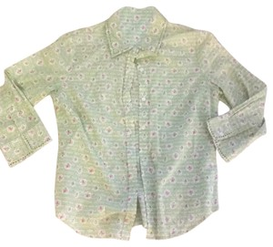 Odille Button Down Shirt green