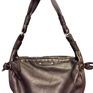 Kate Spade Leather Snakeskin Shoulder Bag