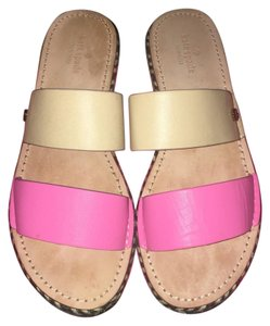 Kate Spade Hot pink and nude Sandals