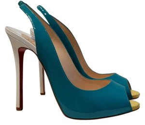 Christian Louboutin Tri- color Sandals