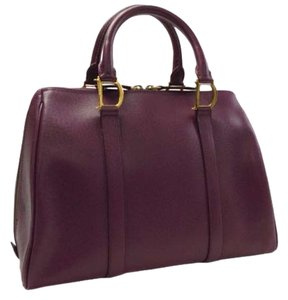 Dior Vintage Tote in Purple