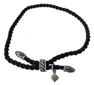 David Yurman David Yurman Black Rope Bracelet