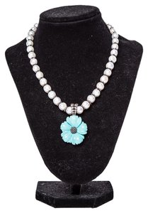 Stephen Dweck Stephen Dweck Pearl & Turquoise Necklace