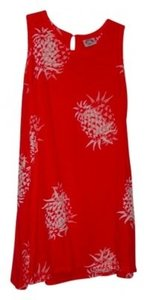 Peppermint short dress Pomegranite Pineapple Print Resort-wear on Tradesy