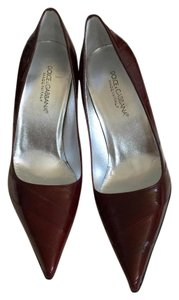 Dolce&Gabbana Burgundy Pumps
