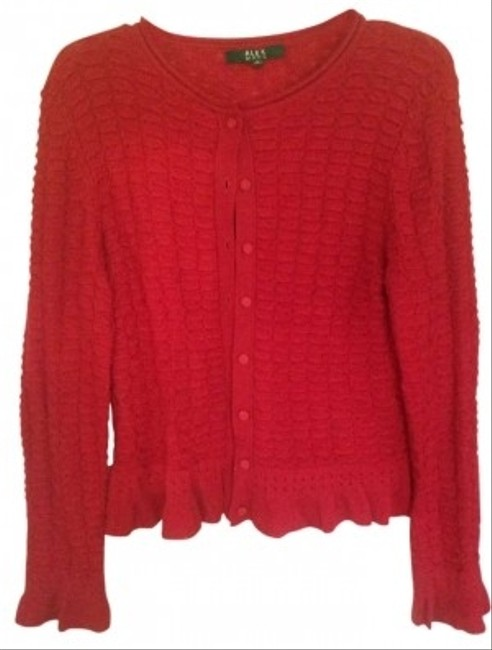 Preload https://item5.tradesy.com/images/alex-marie-red-cardigan-size-8-m-187189-0-0.jpg?width=400&height=650