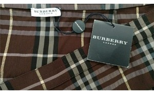 Burberry London Burberry Plaid Classic Mini Skirt brown