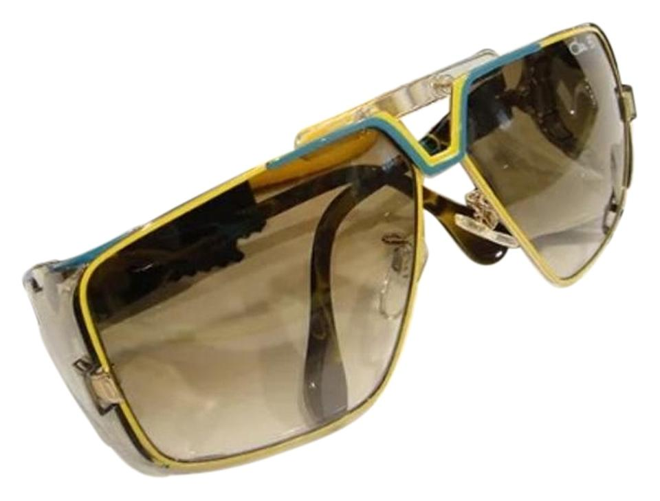 Cazal Yellow 951 003 30th Anniversary Edition Sunglasses Tradesy