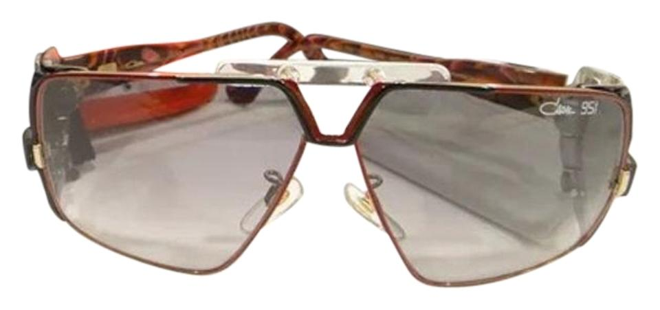 Cazal Black Red 951 002 30th Anniversary Edition Sunglasses Tradesy