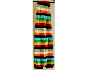 Gap 100% cotton colorful striped warm