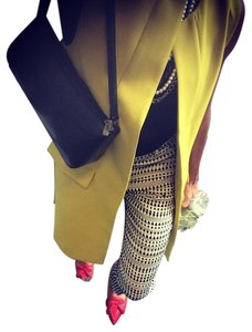 Other Fall16 Under100 Love Need Inspo Chartreuse Yellow Blazer