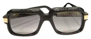 Cazal CAZAL 607/3 Sunglasses 607 SNAKESKIN Black (601) AUTHENTIC New