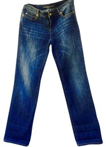 Michael Kors Relaxed Fit Jeans-Distressed