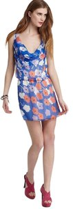 Diane von Furstenberg short dress MULTI Dvf on Tradesy